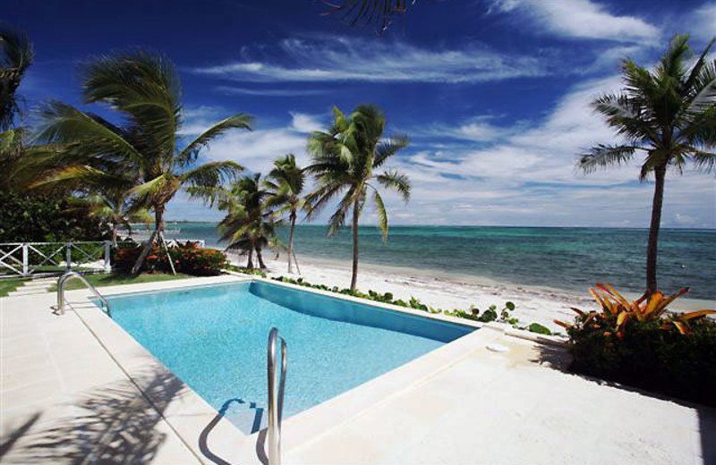 Outdoor pool at CaymanVacation.com.