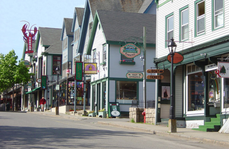 Bar Harbor shopping near Aurora Inn & Motel.