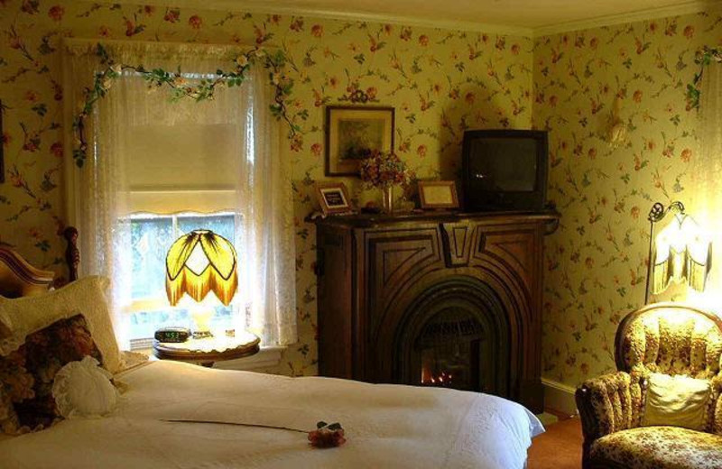Guest room at Westbrook Inn Bed and Breakfast & Cottage.