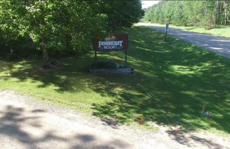 Entrance at Lykins Pinehurst Resort.