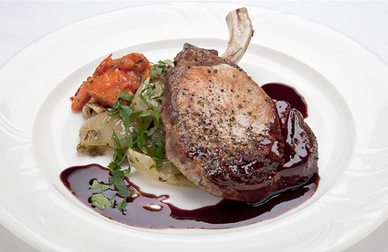 Delicious meals at Killarney Lodge.