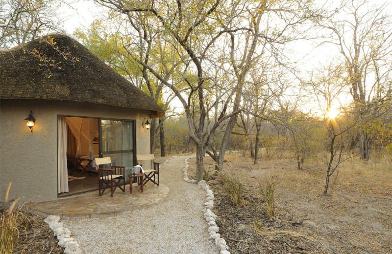 Exterior view of Etosha Aoba Lodge.