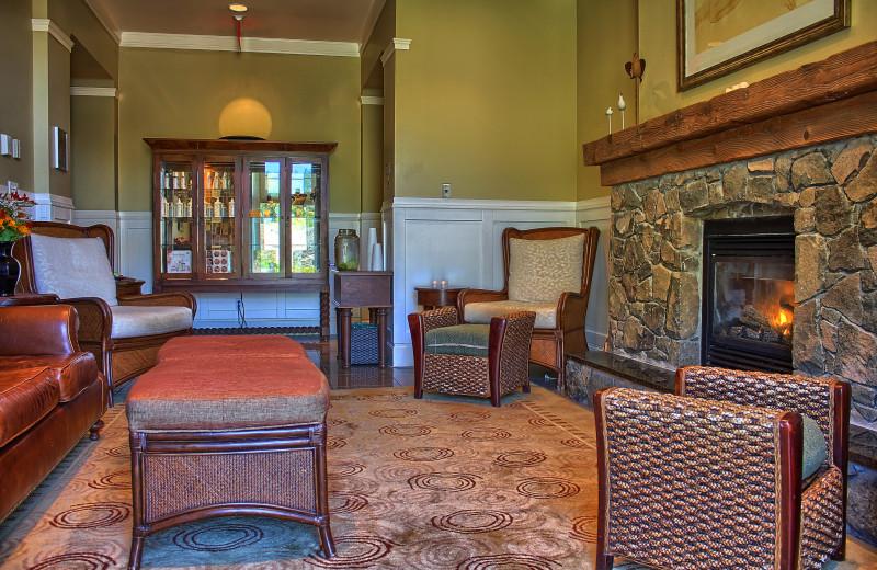 Spa lobby at Poets Cove Resort & Spa.