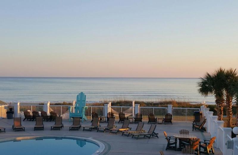 Outdoor pool at Islander Hotel & Resort.