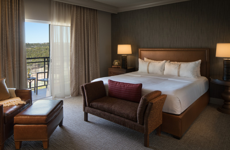 Guest room at La Cantera Resort & Spa.