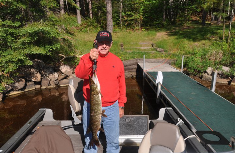 Fishing at River Point Resort & Outfitting Co.