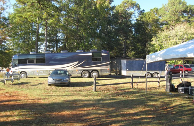 RV park at Highland Marina Resort.