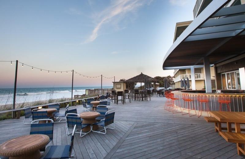 Boardwalk at Crowne Plaza Melbourne Oceanfront Resort.