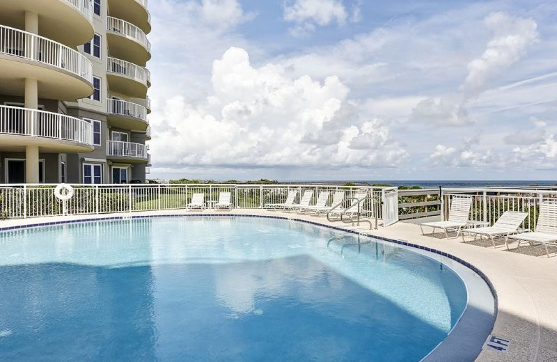 Rental pool at Beach Vacation Rentals.