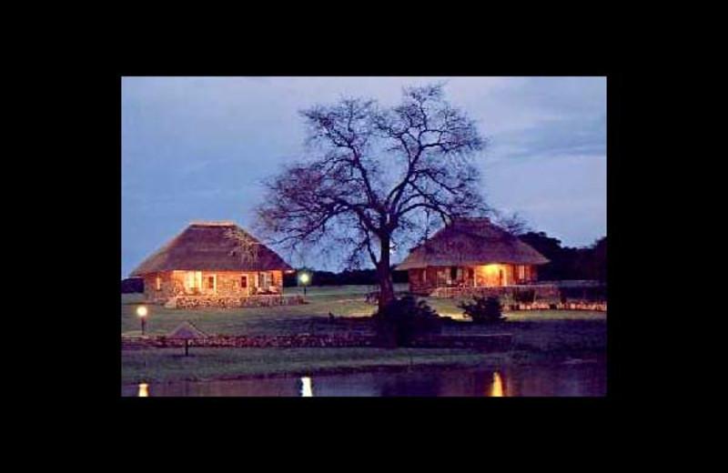 Chalets at Kasaba Bay Lodge.
