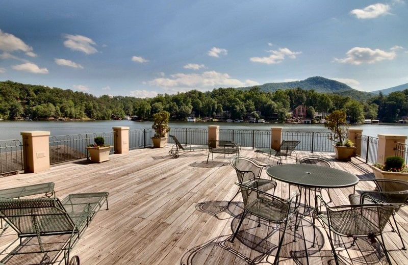 Rental dock at Pinnacle Sotheby's International Realty.