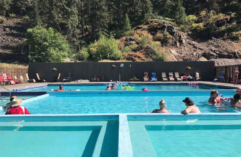 Hot spring at Quinn's Hot Springs Resort