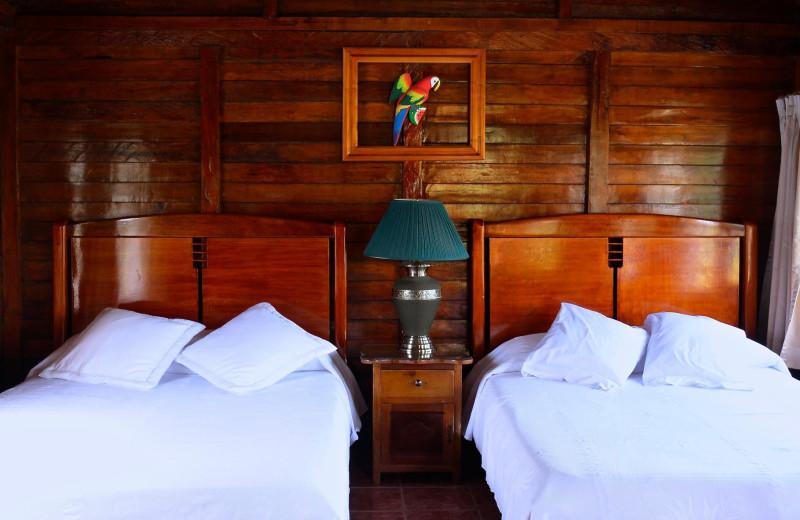 Guest room at Misahualli Jungle Hotel.