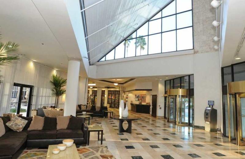 Lobby at Days Hotel by Wyndham Celebration