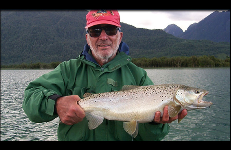 Fishing at Argentinal Chile Fly Fishing Lodges.