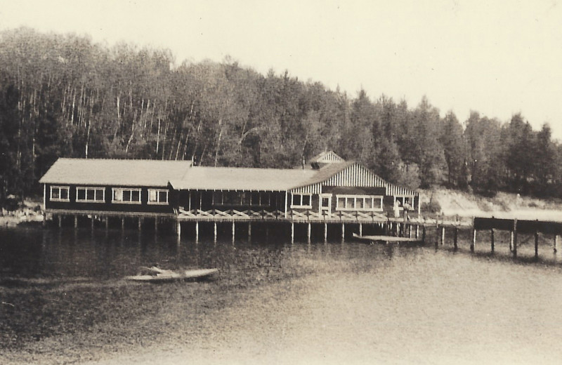 Historic photo of The Lodge at Pine Cove.