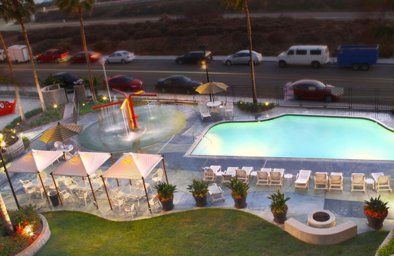 Family Pool with Water Play Feature at the Carlsbad Seapointe Resort