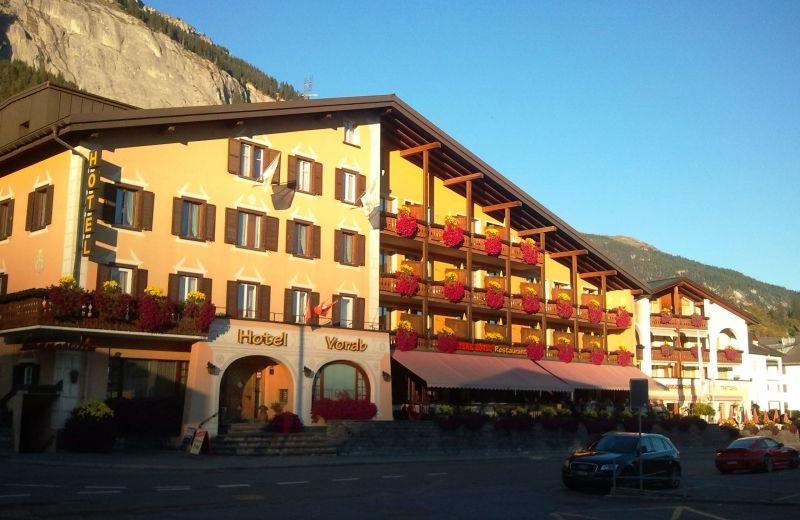 Exterior view of Hotel Vorab.