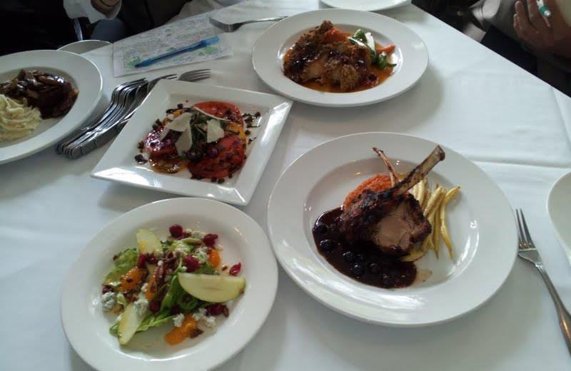 Cuisine at The Greystone Inn.