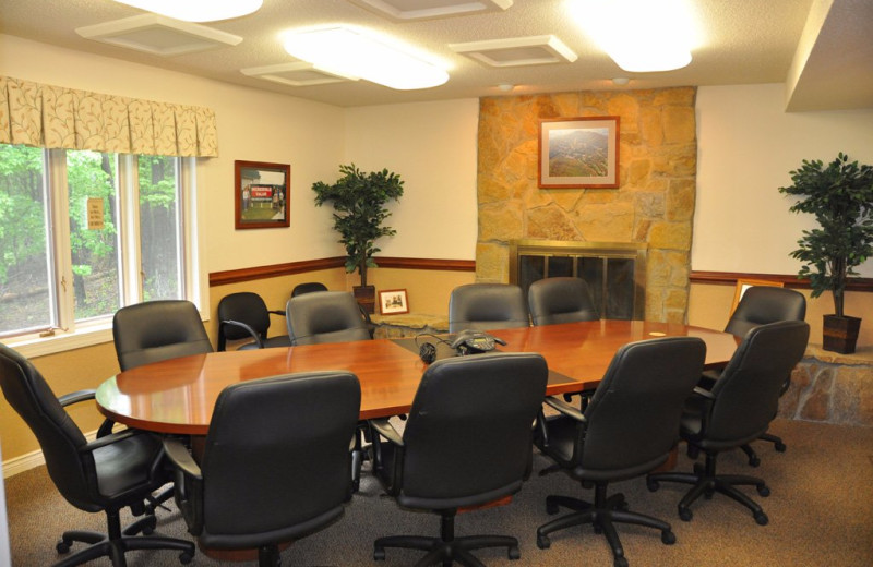 Meeting room at Massanutten Resort.