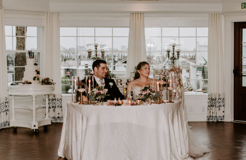 Weddings at Saybrook Point Inn, Marina & Spa.