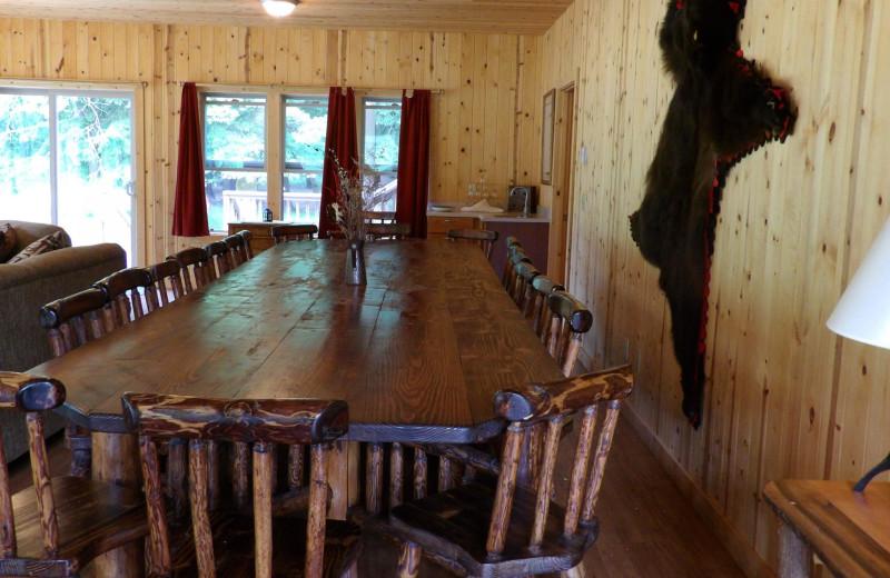 Conference room at Half Moon Bar Lodge.
