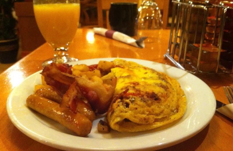 Breakfast at Banff Ptarmigan Inn.