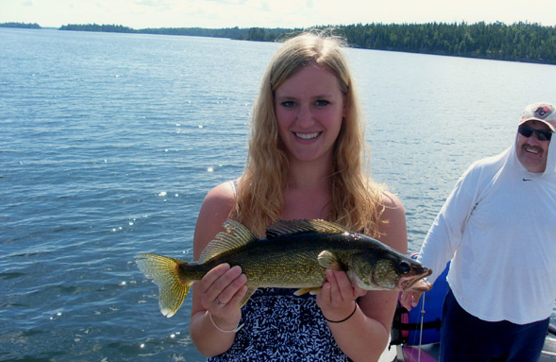 Fishing at Cedar Point Lodge