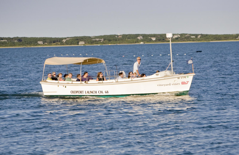 Ferry at Winnetu Oceanside Resort.