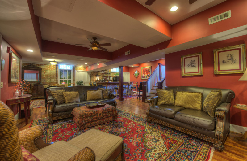 Lounge and bar at Chestnut Hill Bed & Breakfast.