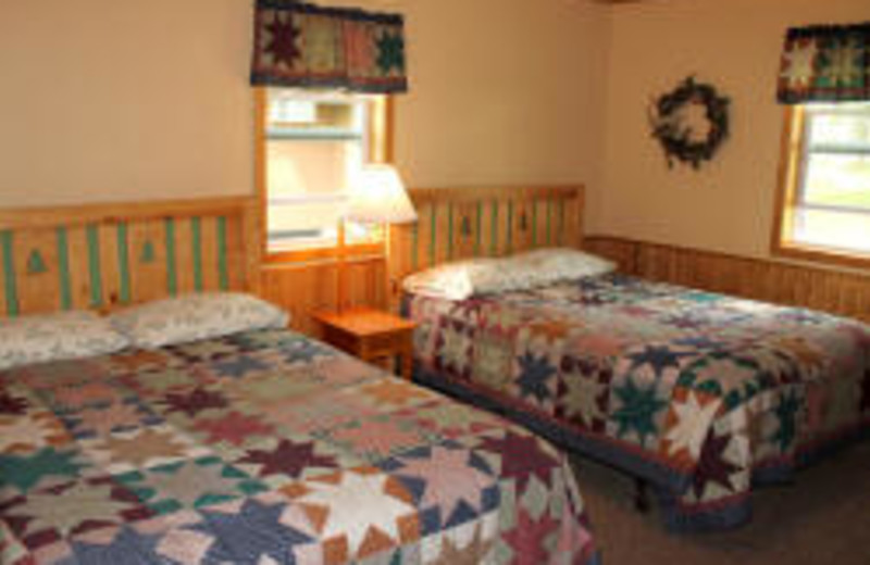 Double Bed Room at Janetski's Big Chetac Resort