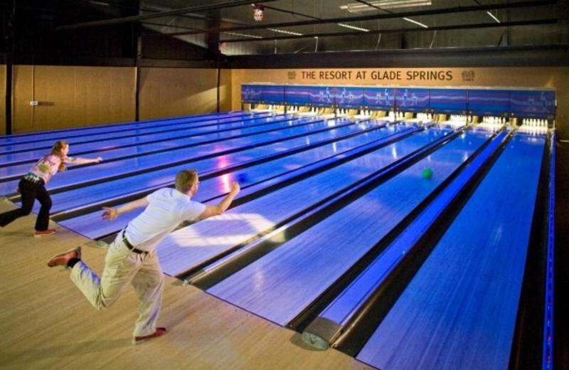Bowling at The Resort at Glade Springs