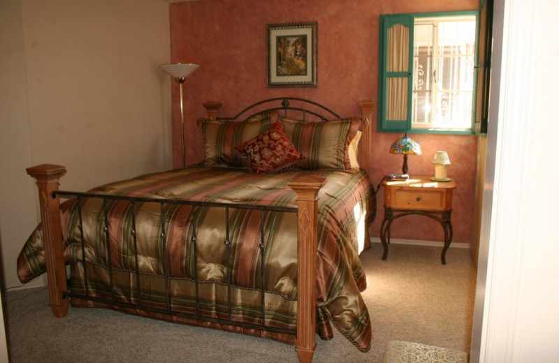 Guest room at Mon Ami Bed & Breakfast.