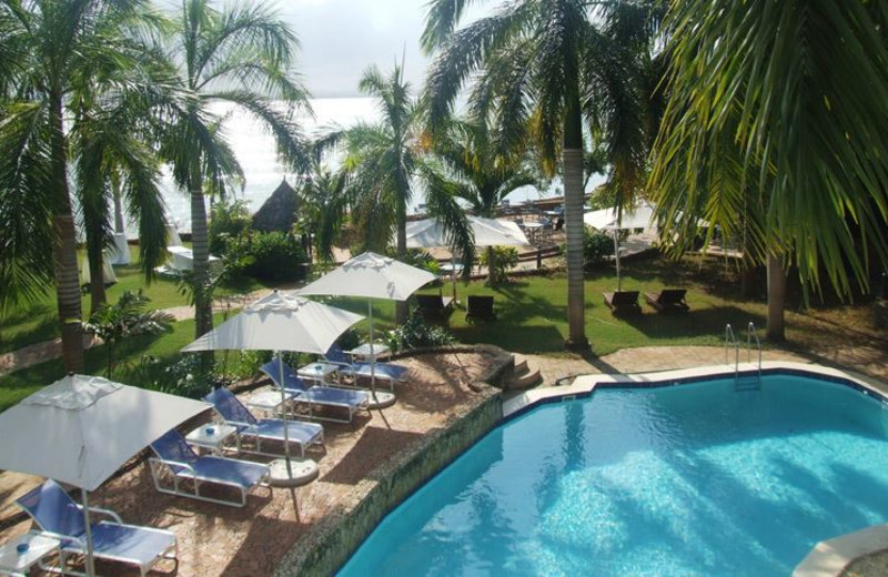 Outdoor pool at Best Western Coral Beach Hotel.