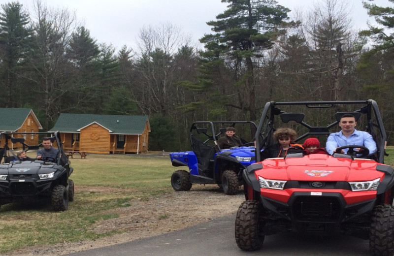 ATV at Catskill Mountains Resort.