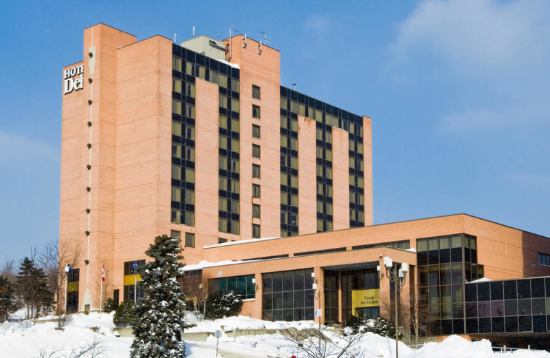 Exterior view of Delta Sherbrooke Hotel and Conference Centre.