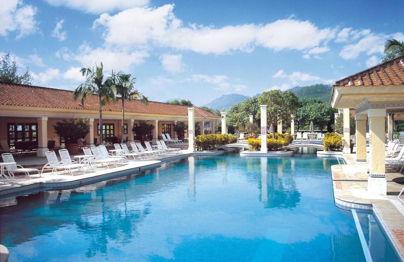 Outdoor pool at Westin Resort Macau.