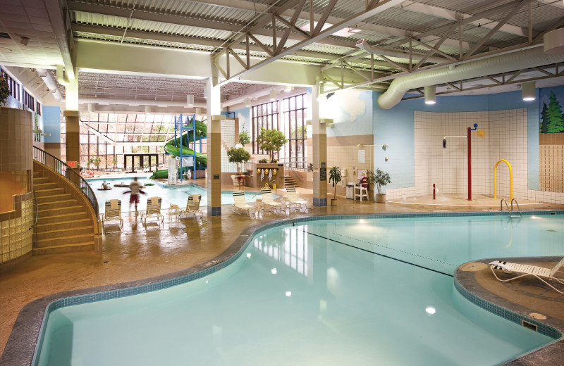 Indoor pool at Grand Traverse Resort and Spa.