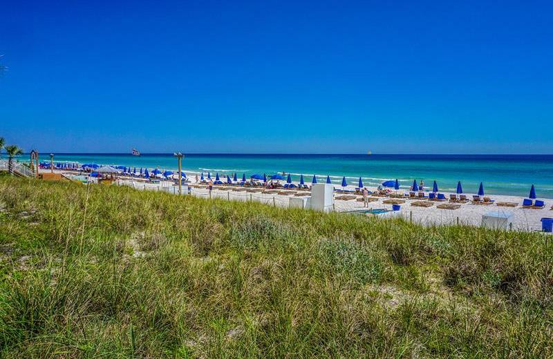 Beach at Splash Resort.