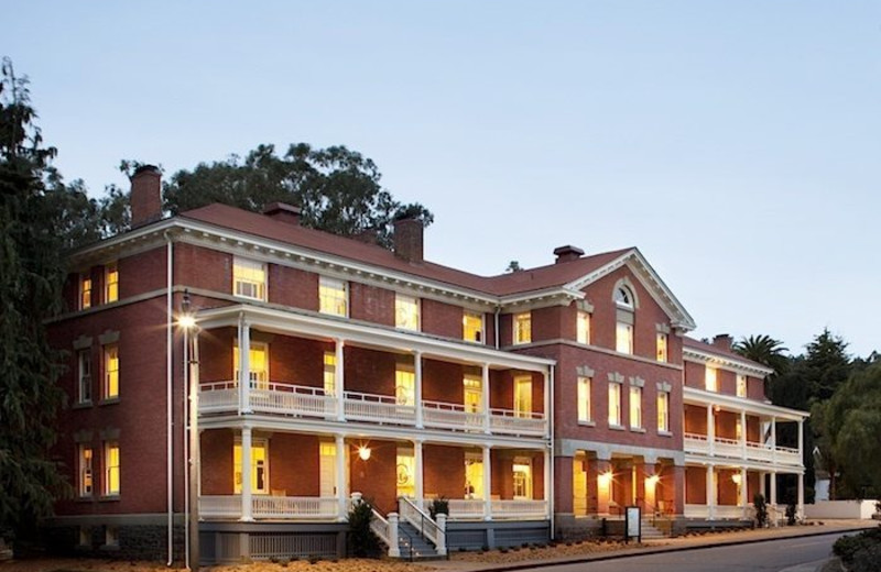 Exterior view of Inn at the Presidio.