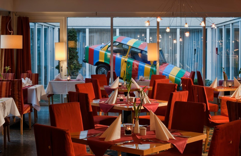 Dining at TRYP by Wyndham Leipzig North.