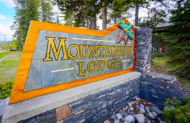 Welcome to Mountaineer Lodge.