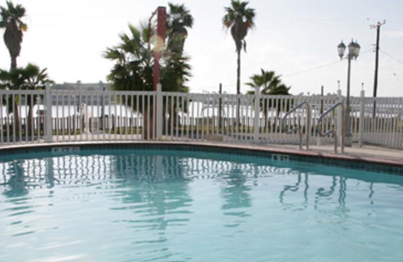 Pool Area at Magic Suntan Motel