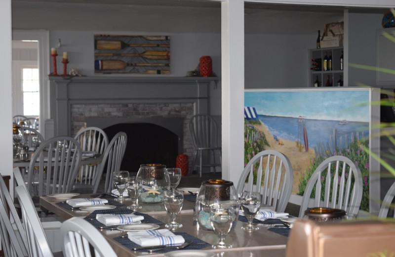 Dining at New Seabury Resort.