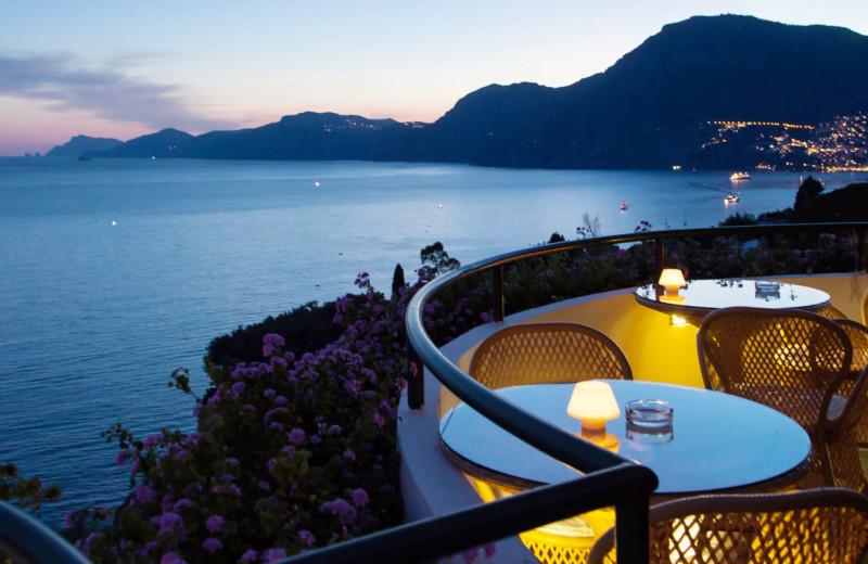 Balcony view at Il Pino.