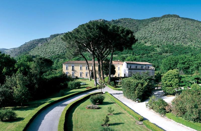 Exterior view of Certosa di San Giacomo.