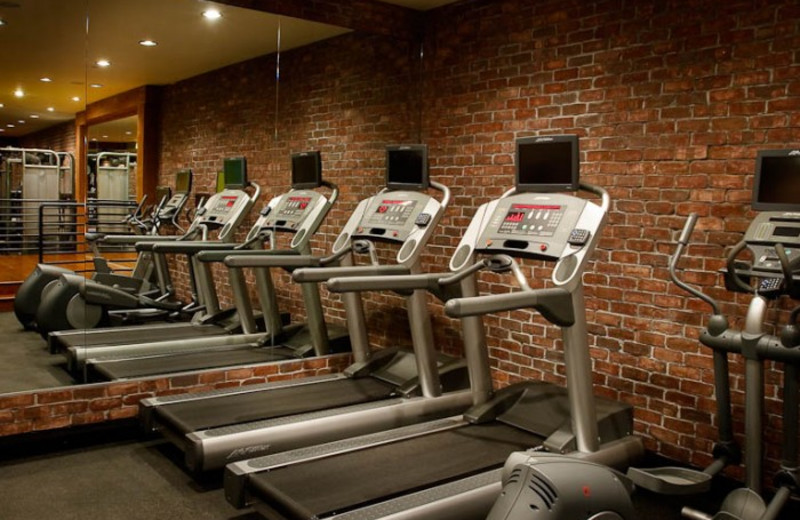Fitness center at White Buffalo Club.