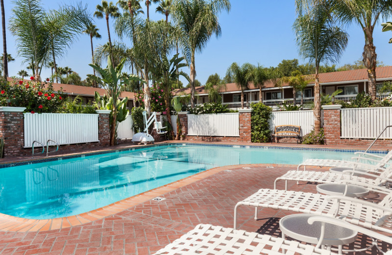 Outdoor pool at Best Western Carriage Inn.