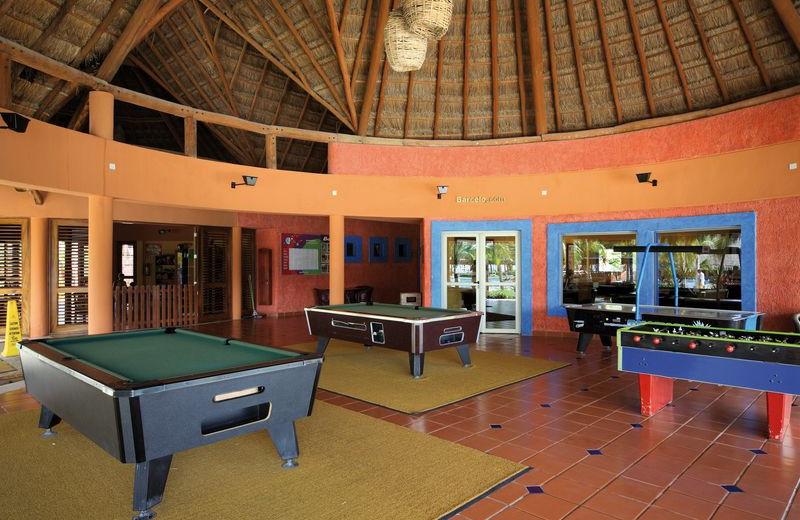 Game Room at Barceló Maya Tropical