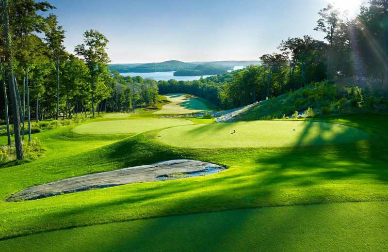 Golf course at Shamrock Bay Resort.